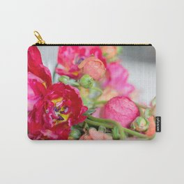 Fiery Red Flowers Carry-All Pouch