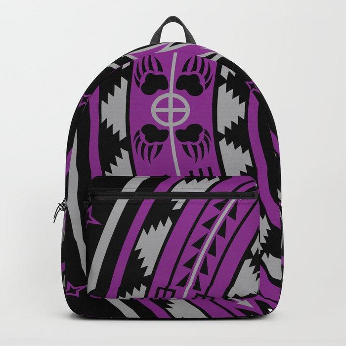 Bear Spirit (Purple) Backpack