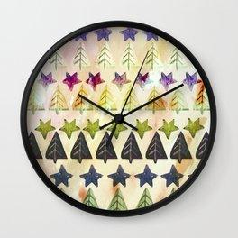 Lost in season Wall Clock