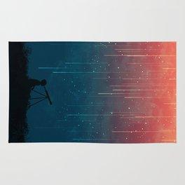Meteor rain Rug