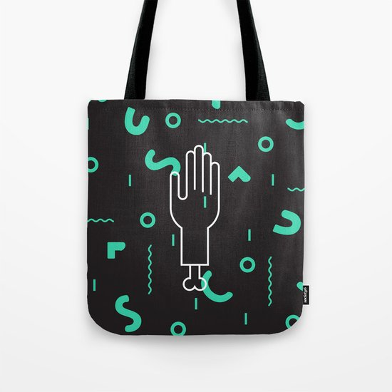 Severed Hand Tote Bag
