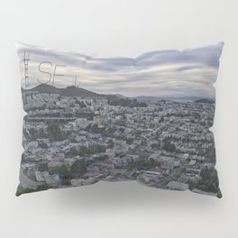 San Francisco - Sutro Tower Chill Pillow Sham