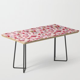 Santa Gift Pattern Coffee Table