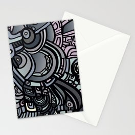 ROBOTS OF THE WORLD Stationery Cards