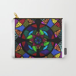 Compass Mandala Carry-All Pouch
