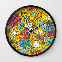 AW YEA! Wall Clock