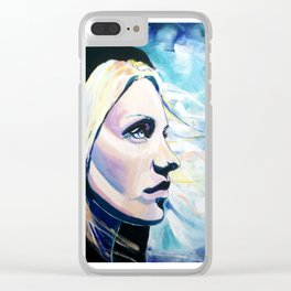Undiscovered Light Clear iPhone Case