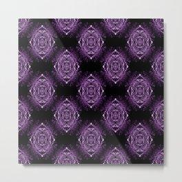 Purple Lace.... Metal Print