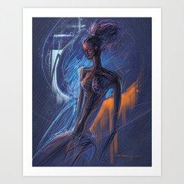 Annahir Art Print