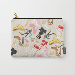 Shoes Full Time Love Carry-All Pouch