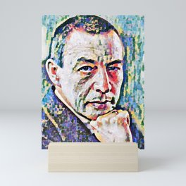 Sergei Rachmaninoff (Serghei Rahmaninov) in 1921 (digitized photography) Mini Art Print