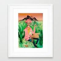 rio de janeiro Framed Art Prints featuring Rio de Janeiro by Kate Raq