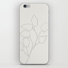 Floral Study no. 5 iPhone Skin