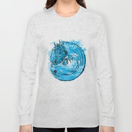 Dragon Waves Long Sleeve T-shirt