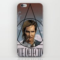 true detective iPhone & iPod Skins featuring True Detective by Pop Vulture