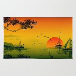 Oriental Sunset Rug
