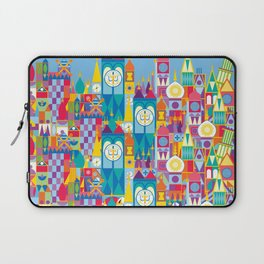 It's A Small World - Theme Park Inspired Laptop Sleeve
