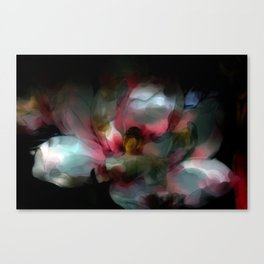 Opalescent Flower One  Canvas Print