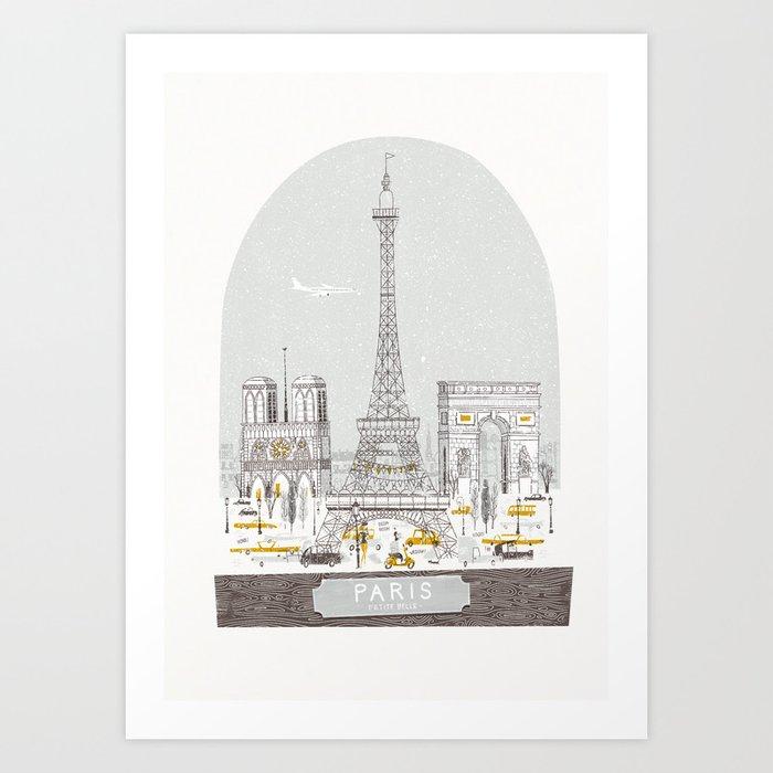 Petit Belle Art Print