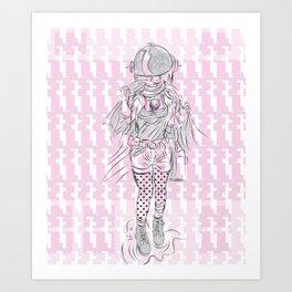 Advancement Study #1 Art Print