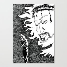 Someone Watching Over Me Canvas Print