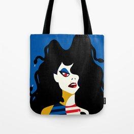 M is for MEDUSA Tote Bag