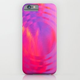 Abstract Geometric Art Colorful Design 660 iPhone Case
