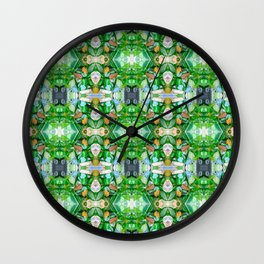Sea Glass 17 Wall Clock