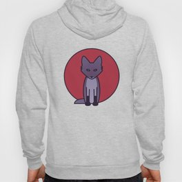 Purple Fox - Kitsune Visits Japan Hoody