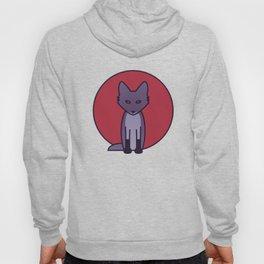 Purple Fox - Kitsune Visits Japan Hoody