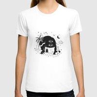 silent T-shirts featuring Silent Night by Súa Agapé