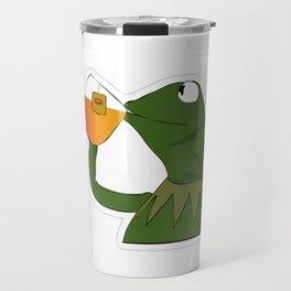 Sipping Sips Drinking Tea - Sips Fact Travel Mug