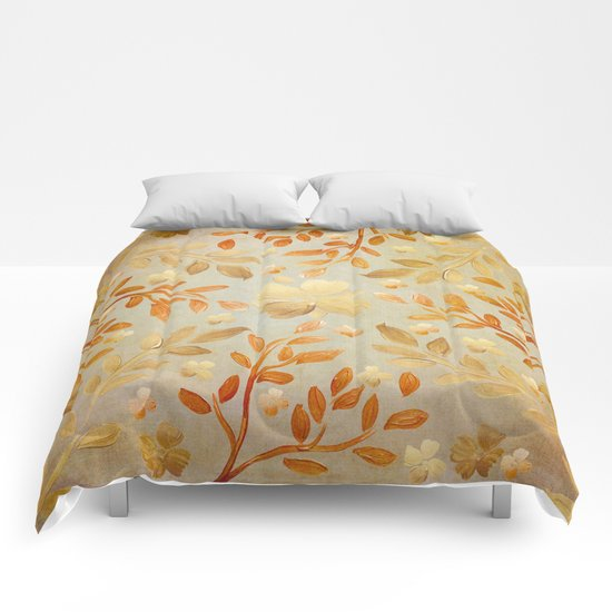 Golden Autumn Comforters