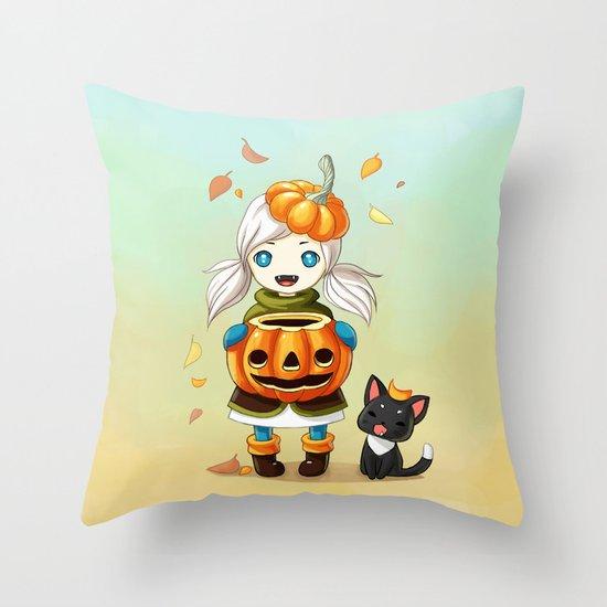 Pumpkin 2 Throw Pillow