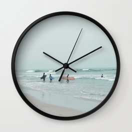 Lets Surf Wall Clock