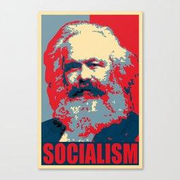 Karl Marx Socialism Propaganda Canvas Print