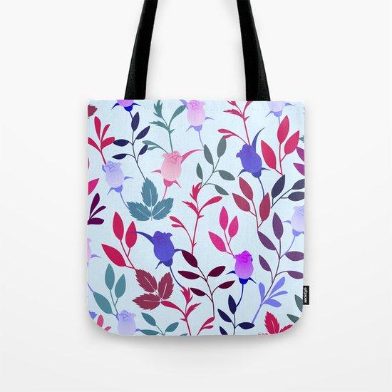 Flower Pattern III Tote Bag
