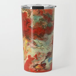 Abstract Oil Painting 2 Travel Mug