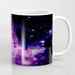 Celestial Palace Enchanted Castle Fuchsia Pink Purple Coffee Mug