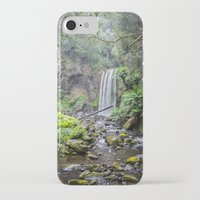 waterfall iPhone & iPod Cases featuring Waterfall by Michelle McConnell