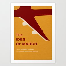 The Ides of March - MINIMALIST POSTER Art Print