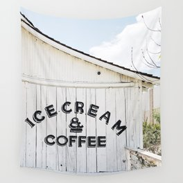 Ice Cream & Coffee Wall Tapestry