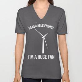 Renewable Energy Funny Quote Unisex V-Neck