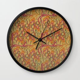 Wave interlude Wall Clock