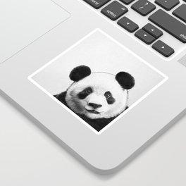 peekaboo panda Sticker