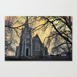 Carngham Uniting Church Canvas Print