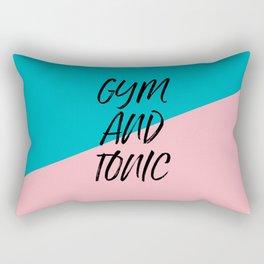 Gym and Tonic Rectangular Pillow