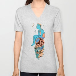 Sea Horse - EYE Drain to the Sea Unisex V-Neck