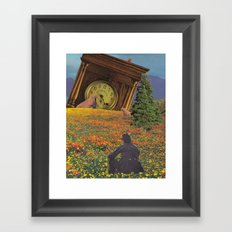 They're watching... Framed Art Print