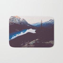 Peyto Lake - Banff National Park Bath Mat